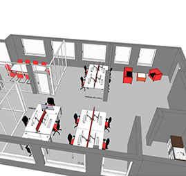 office space planning image